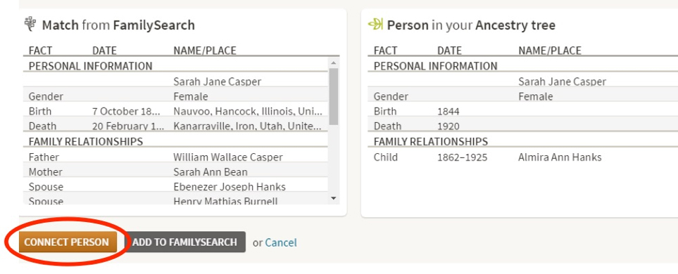 how to delete ancestry account