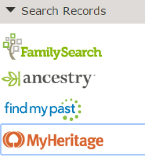 Search Ancestry.com for records using your free using your LDS account.