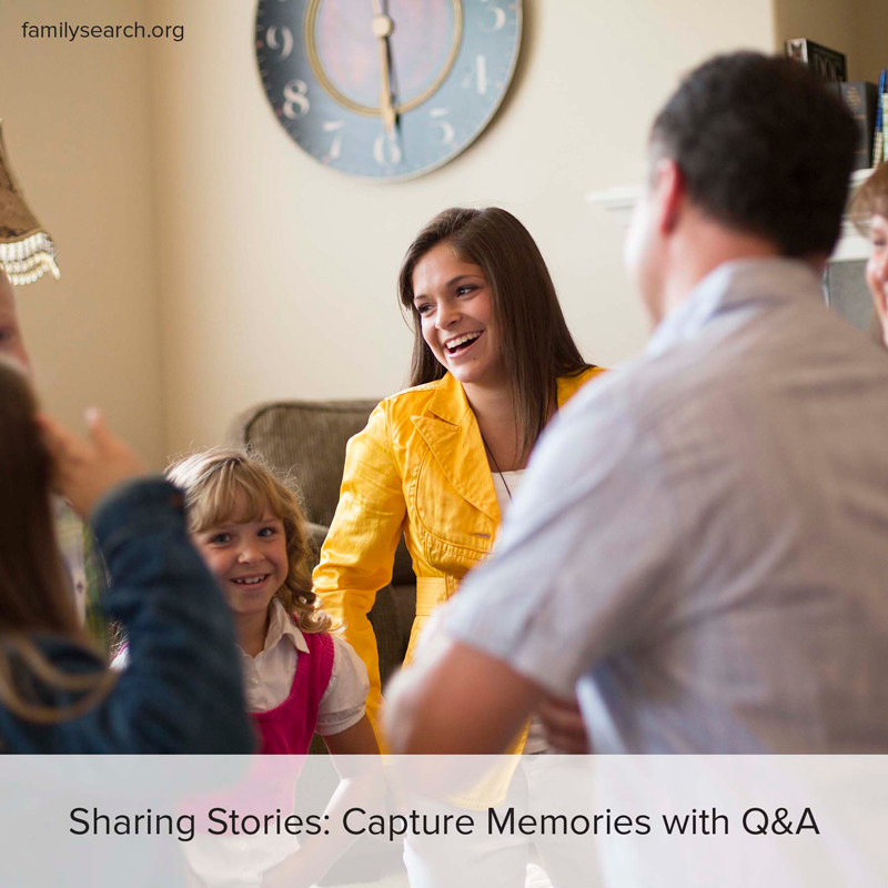 5 simple ways to start preserving your family stories today.