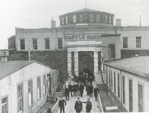 The Castle Garden Emigrant Landing Depot was the first USA immigration station.