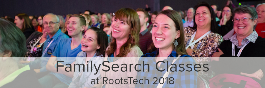 RootsTech 2018 content