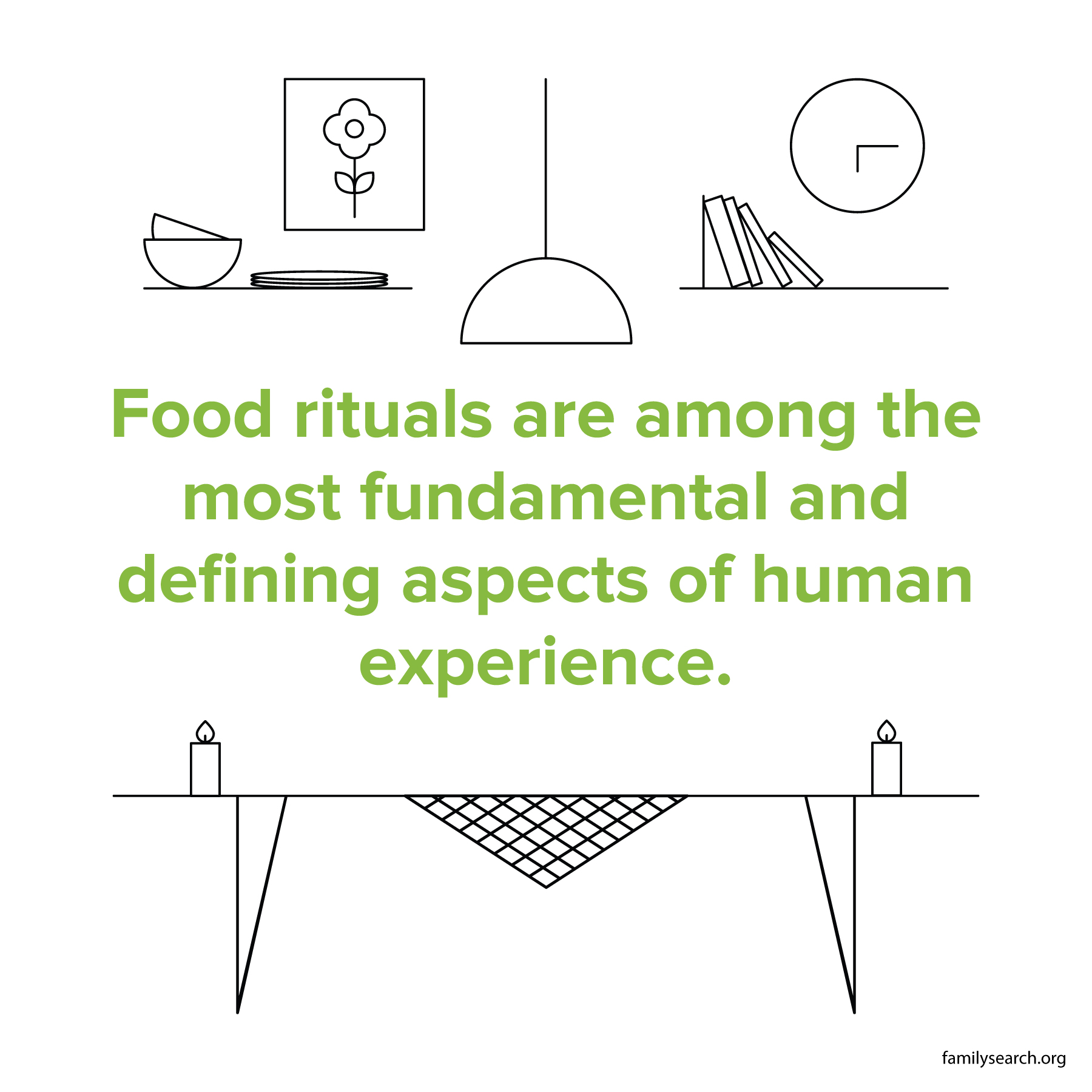 Food rituals are among the most fundamental and defining aspects of human experience.