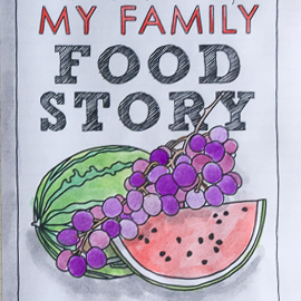 Get excited about your family's food traditions by recording recipes and the memories associated with them!