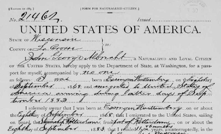 DIY: Find the records that help you find you immigrant ancestors.