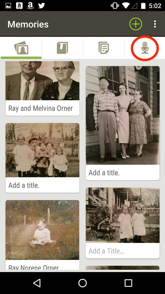 How to use the FamilySearch Memories app to preserve your family stories.