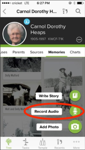 How to preserve your family history today with the FamilySearch Memories app.