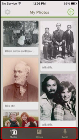 FamilySearch's Memories App makes sharing family history stories easy.