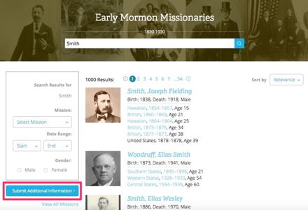 Missionary journals and letters provide a special glimpse of what life was like for your missionary ancestor.