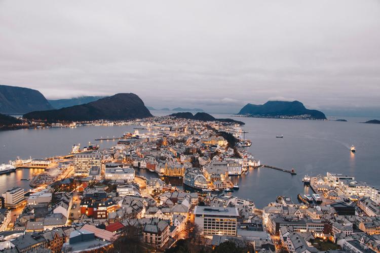 A norwegian city.