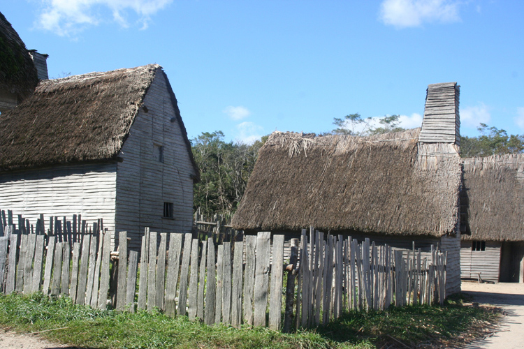 plymouth colony homes for pilgrims of the mayflower