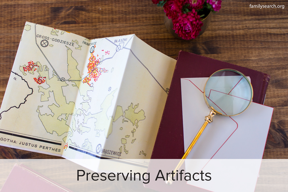 Family History Preservation: Preserving Artifacts
