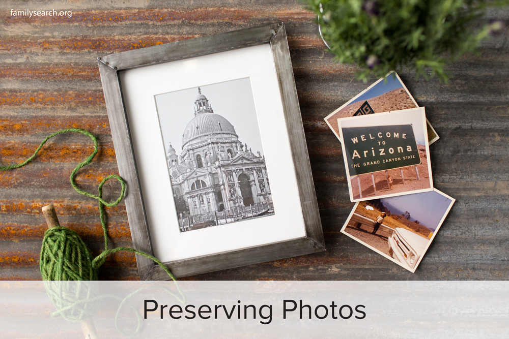 Family History Preservation: Preserving Photos