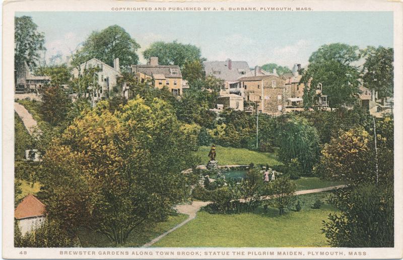 william brewster garden and land