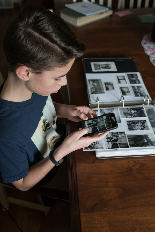 Preserve and access digital records and memories of your family online.