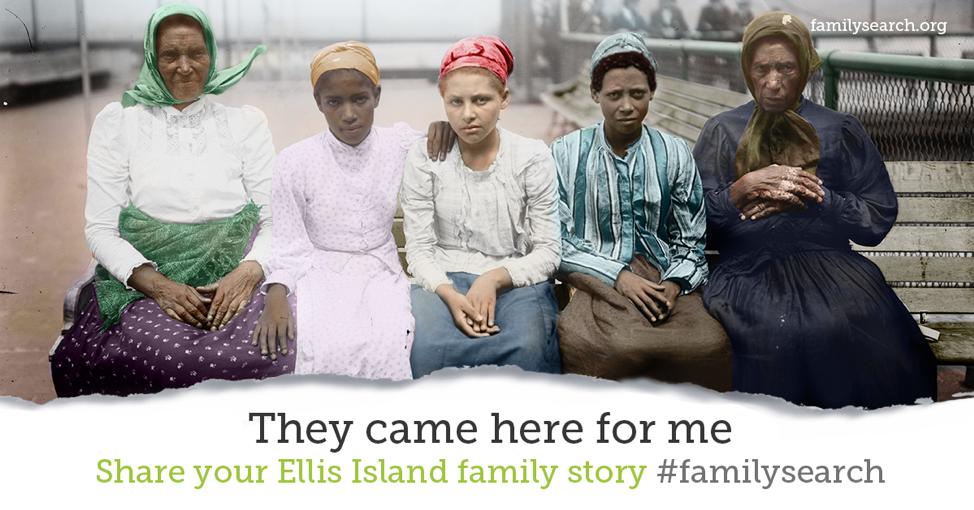 Encuentre y comparta las historias de sus antepasados inmigrantes de Ellis Island a través de FamilySearch.
