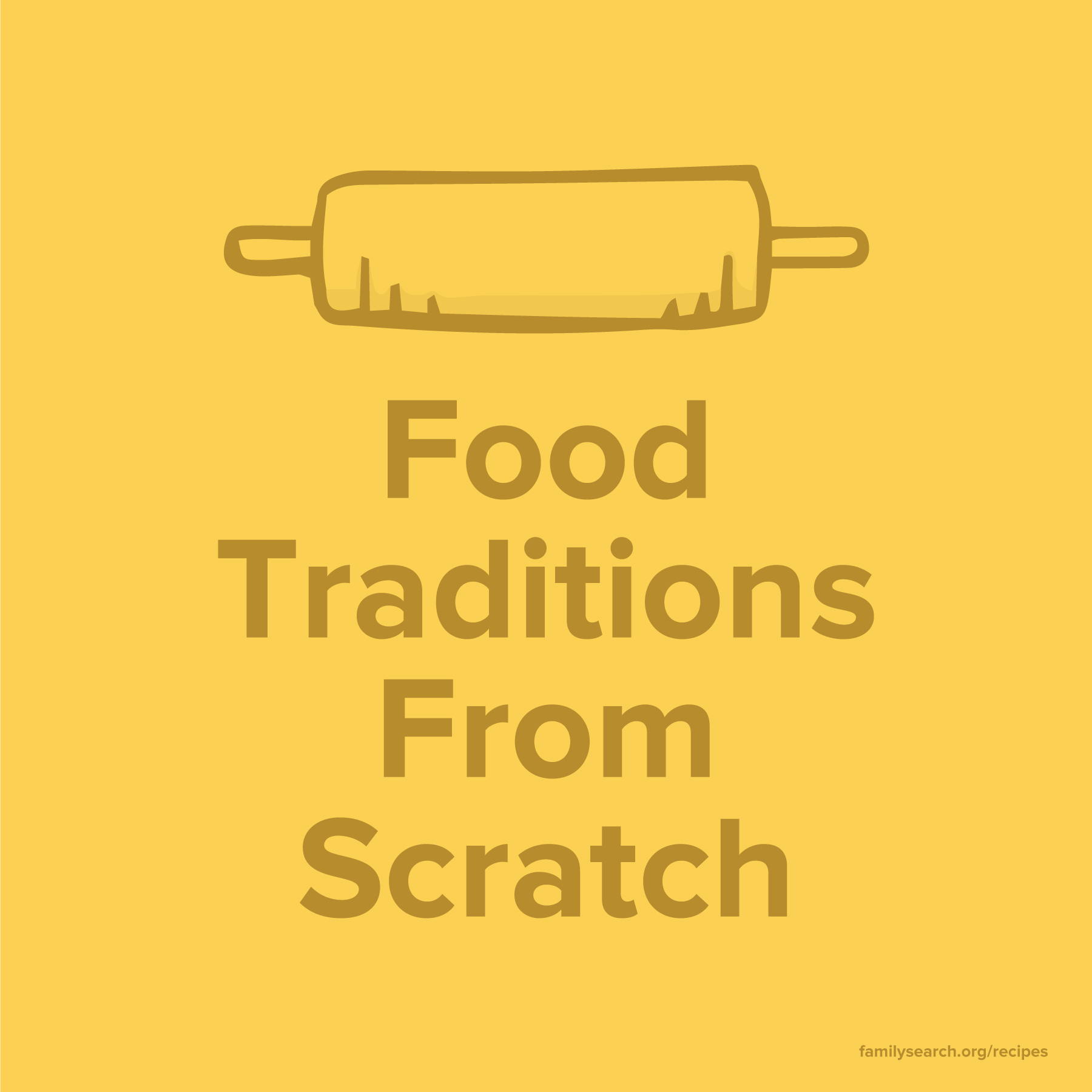 How to record family history through food traditions.