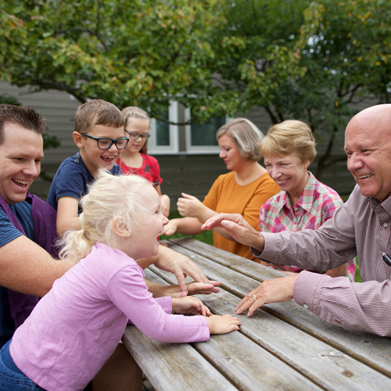 Try fun family activities to introduce family history.