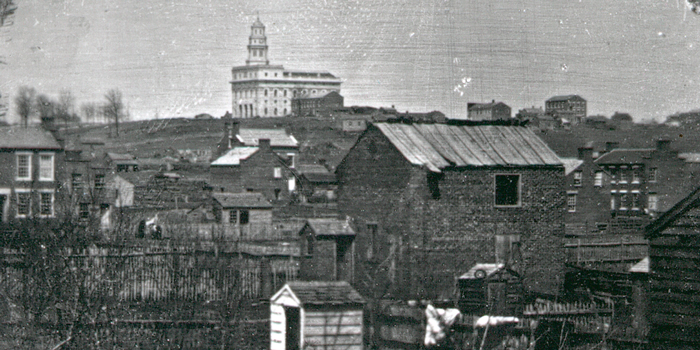 A photograph of historic Nauvoo Illinois