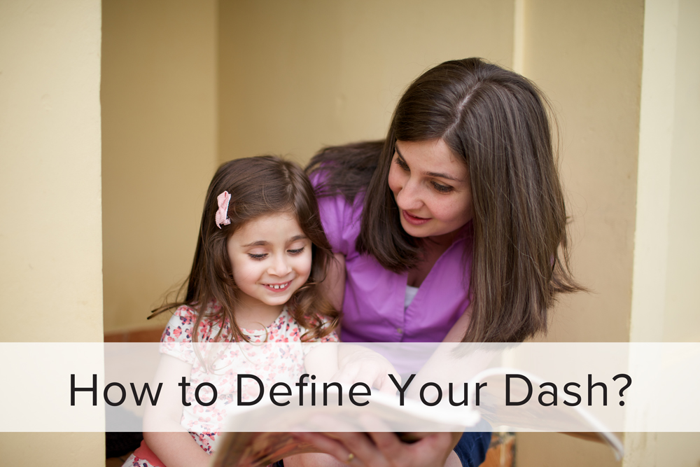 How to Define Your Dash