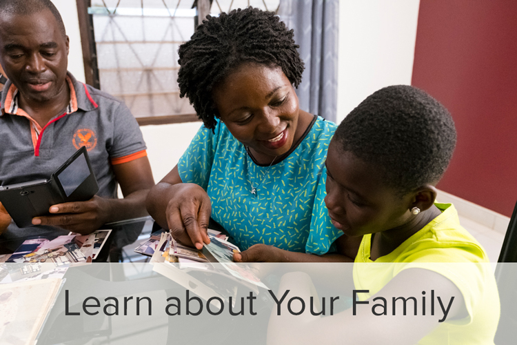 Learn how to discover your family history using FamilySearch.