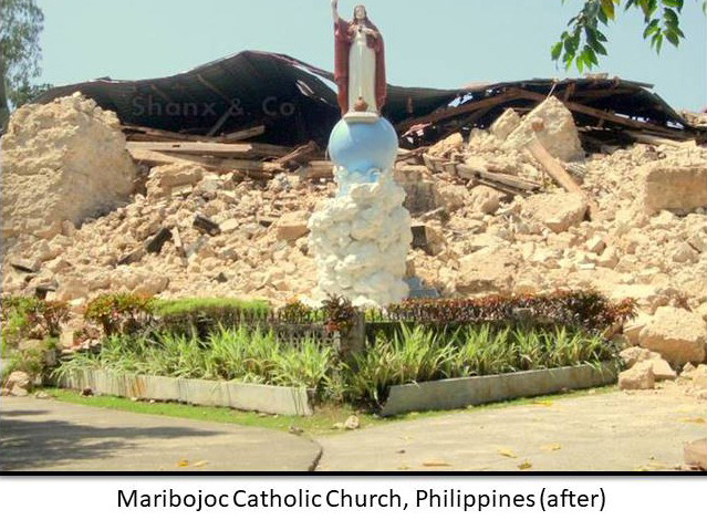 Flood damage to Catholic Church records in the Philippines