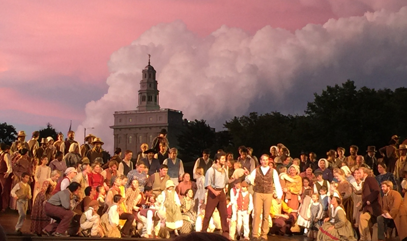 The Nauvoo Illinois pageant
