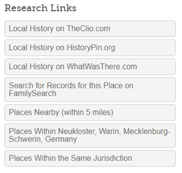 How to search for your ancestors by location.