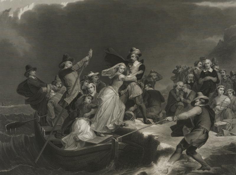 pilgrims land in cape cod