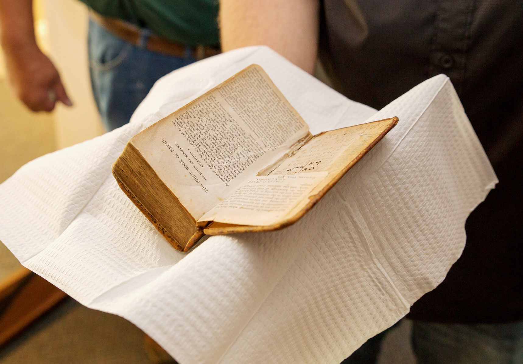 preserving and handling family bible