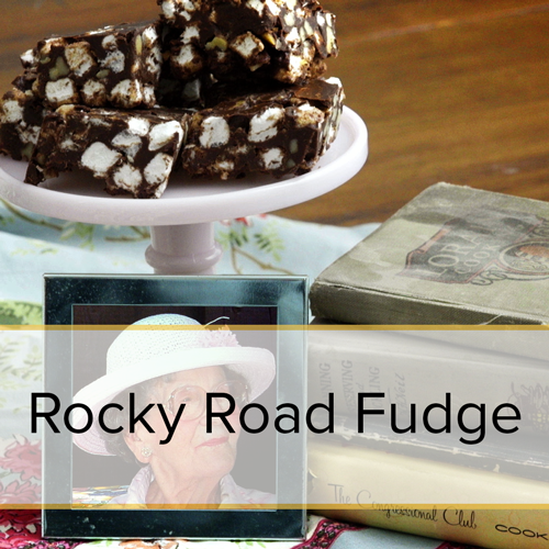 Rocky Road Fudge family recipe