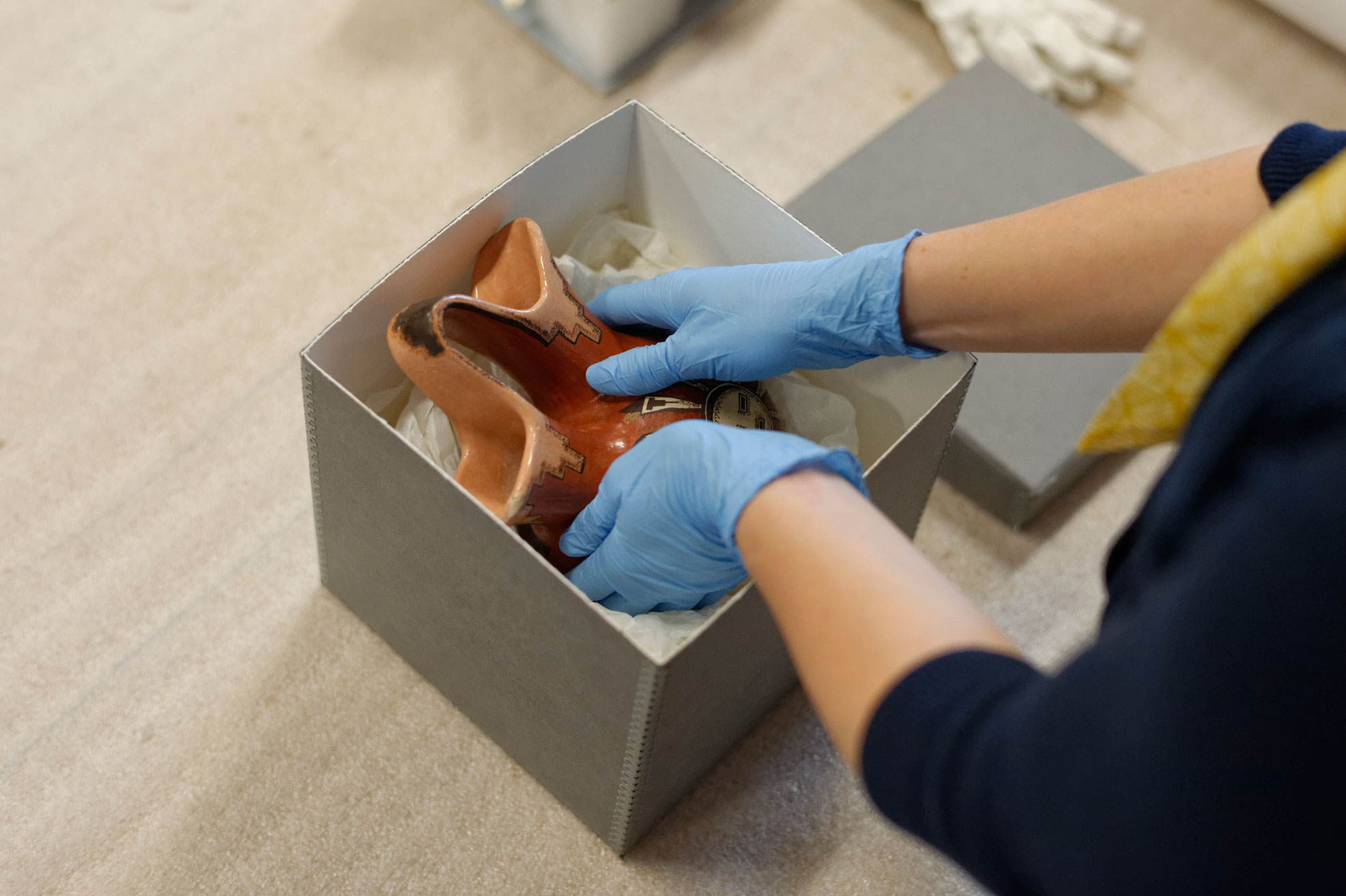 preserving and storing family artifacts