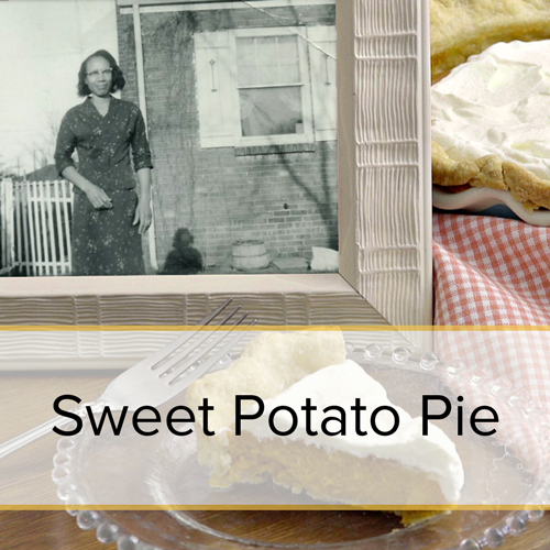 Sweet Potato Pie family recipe