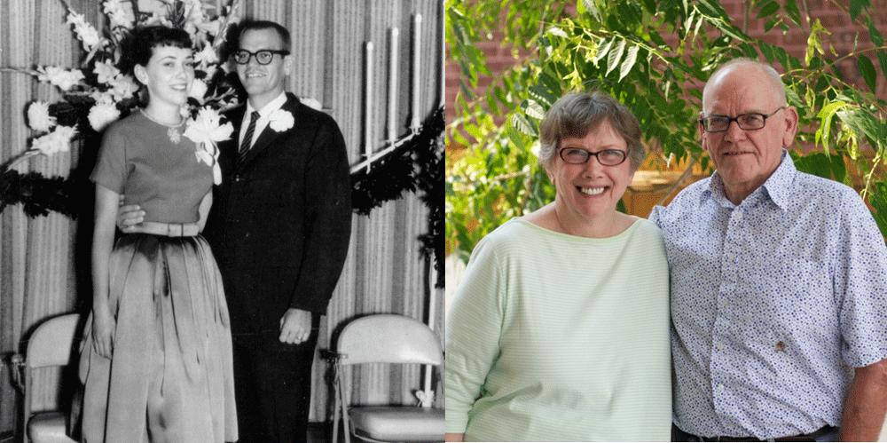 A 50th wedding anniversary is a great time to capture family memories.