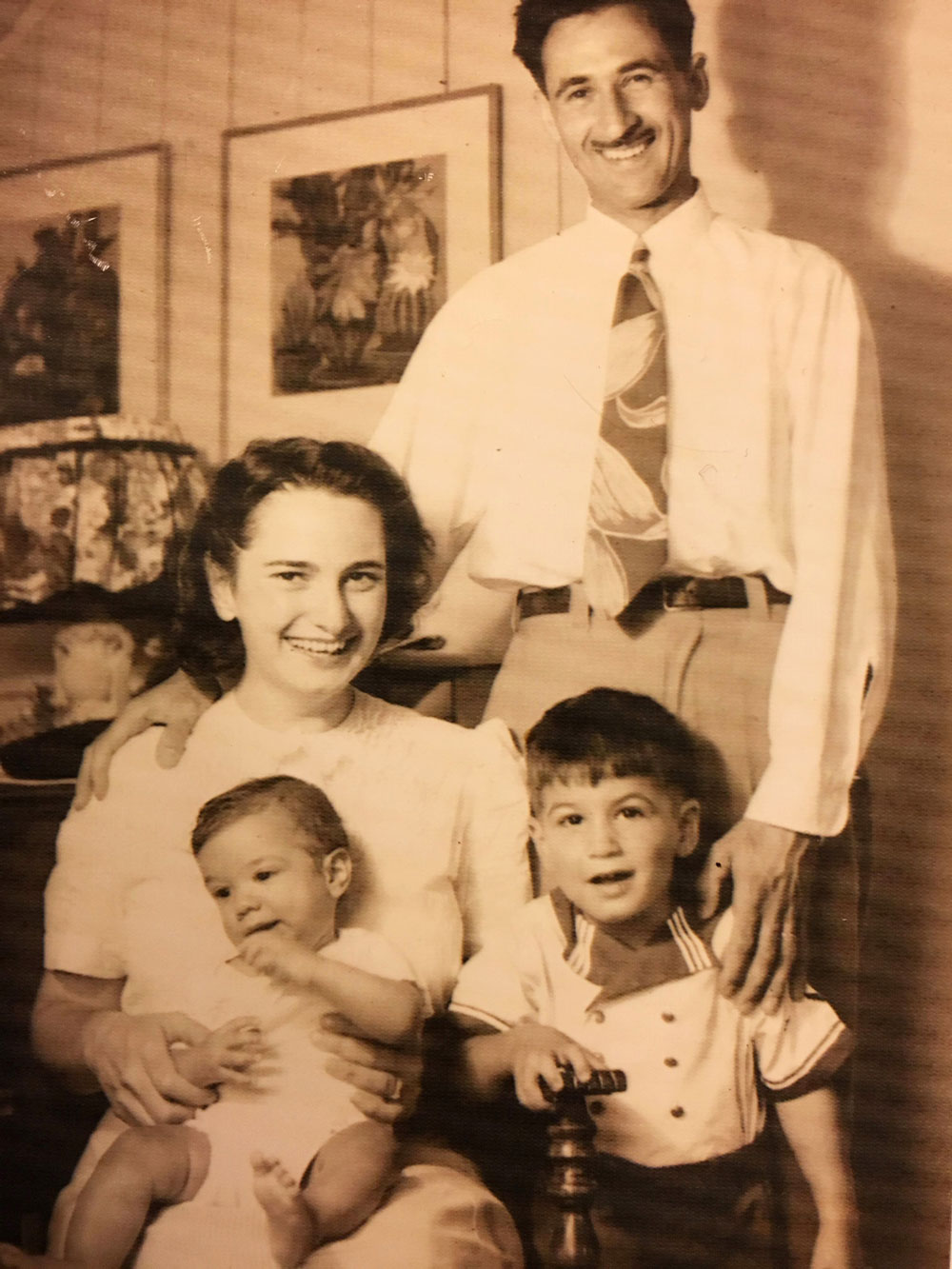 My grandmother, Zena, and her family
