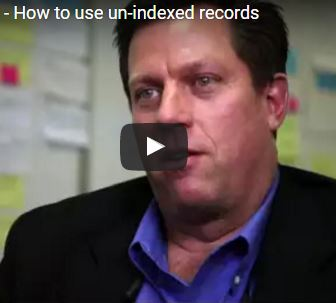 Robert Kehrer: How to use un-indexed records